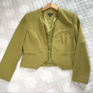 Premise Eclipse Green Blazer Size 10